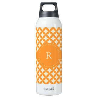 Modern Monogram 16 Oz Insulated SIGG Thermos Water Bottle