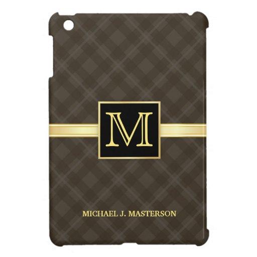 Modern Monogram Executive iPad Mini Case For The iPad Mini