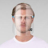 Modern Monogram Men's Face Shield