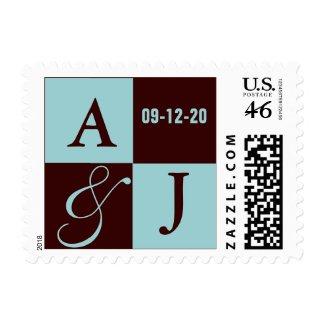 Modern Monogram stamp