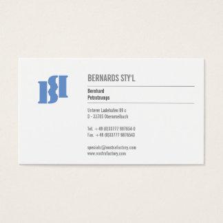 Modern Monograms Business Card