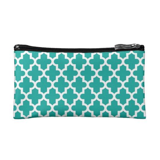 Modern Moroccan Pattern Cosmetic Bag