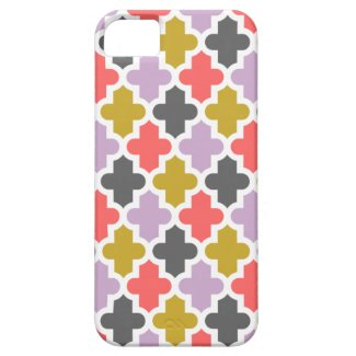 Modern Moroccan Pattern iPhone 5 Cases