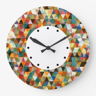 Modern Mosaic Design Large Clock