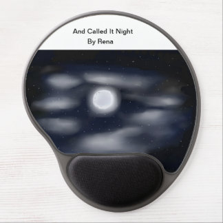 Modern  Mouse Pad  Art And call It Night By Rena Gel Mouse Pad