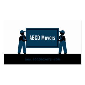 Modern Mover Transport Services Logistics Company Tarjetas De Visita