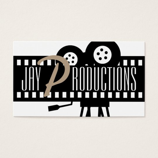 Modern movie director film producer business card zazzle modern movie director film producer business card colourmoves Image collections