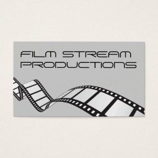 Modern Movie Director Film Producer Business Card