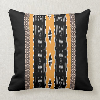 Modern Mud Cloth Design Pillow