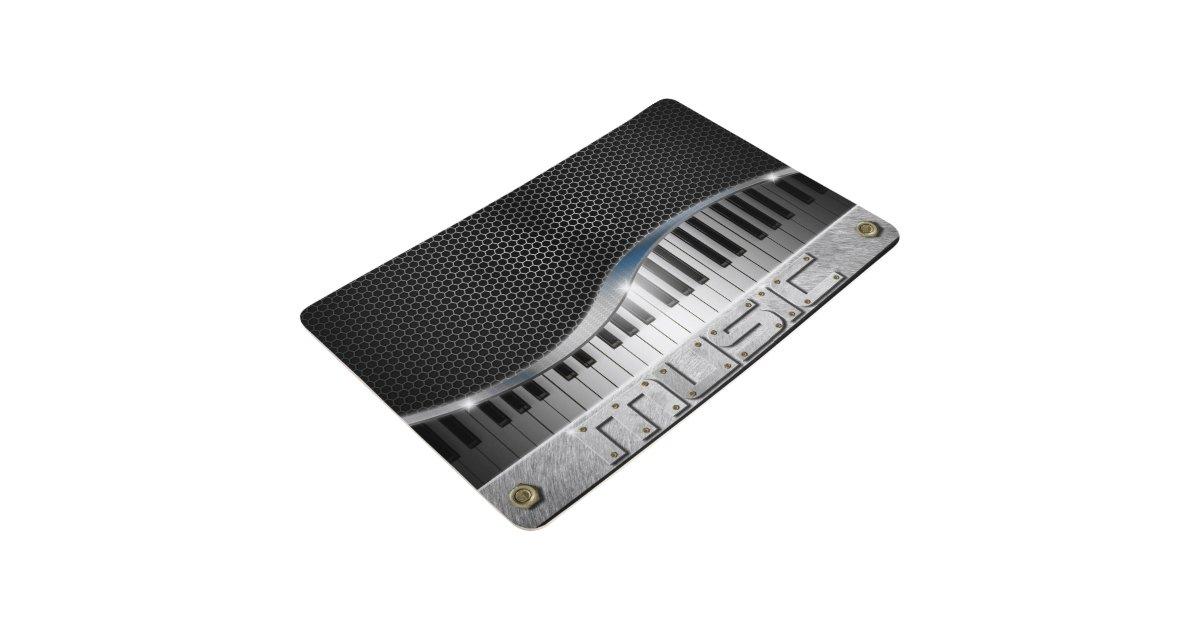 Modern Music Floor Mat Zazzle
