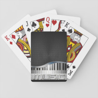 Modern Music Playing Cards