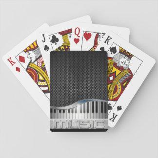 Modern Music Playing Cards