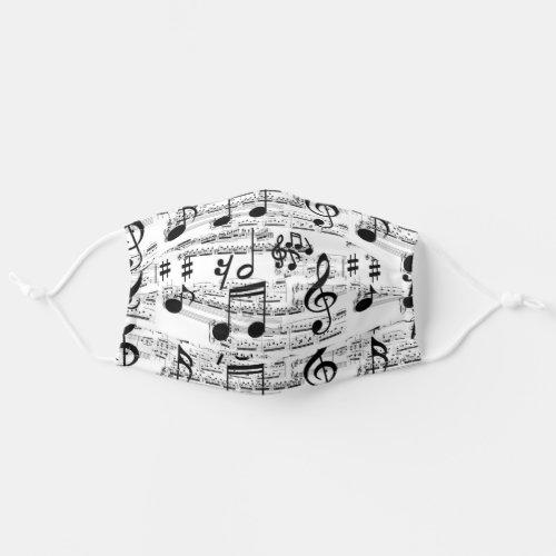 Modern Musician  Music Lover Face Mask