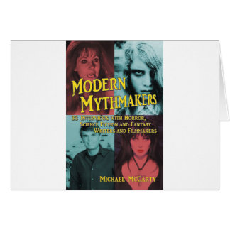 MODERN MYTHMAKERS by Michael McCarty Card
