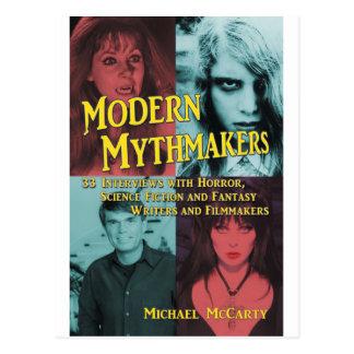 MODERN MYTHMAKERS by Michael McCarty Postcard
