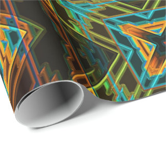 Modern Native American 19 Wrapping Paper