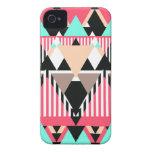 Modern Native Pattern Case-Mate iPhone 4 Case