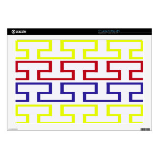 Modern Nautical Colored Bricks Decals For Laptops