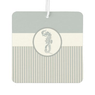 Beach Themed Modern Nautical Seahorse Beach Car Air Freshener