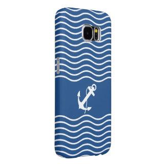 Modern Nautical Style Samsung Galaxy S6 Case