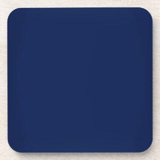 Modern Navy Blue Customizable Coaster