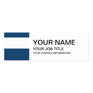 Modern Navy Blue White Stripes Pattern Business Card Templates