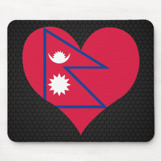 Modern Nepalese flag Mouse Pad