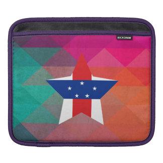 Modern Netherlands Antilles Flag Sleeve For iPads