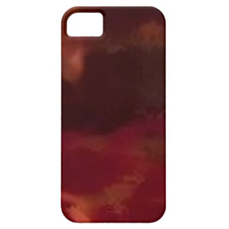 Modern network-burgundy patter_iphone5 iPhone SE/5/5s case