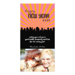 MODERN NEW YEAR PHOTOCARD :: cityscape P3 Photo Card