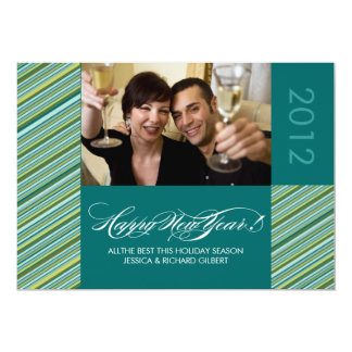 Modern New Years Photo Cards