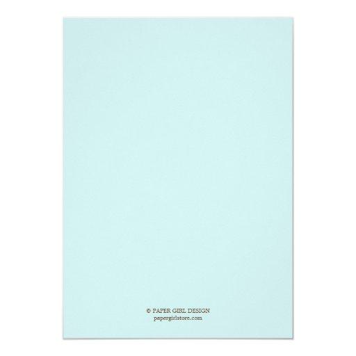 Modern Nursery Baby Shower Invitation (Blue) (back side)