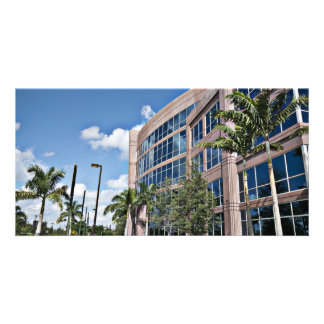 Modern Office Building Architecture Card