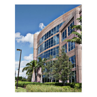 Modern Office Building Architecture Postcard