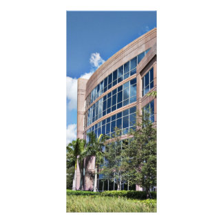 Modern Office Building Architecture Full Color Rack Card