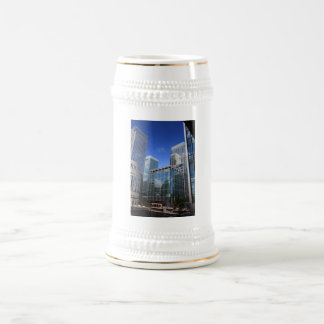 Modern Office Buildings Mugs