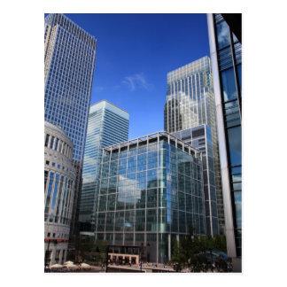 Modern Office Buildings Postcard
