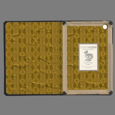 Modern old pattern iPad mini cover