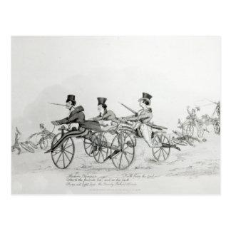 Modern Olympics', c.1820 Postcard