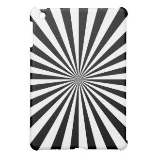 Modern Optical Burst Spinning Wheel Decor iPad Mini Covers