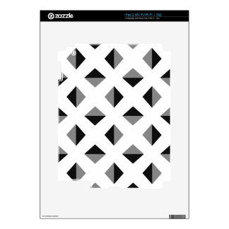 Modern Optical Illusion Pattern Skins For The iPad 2