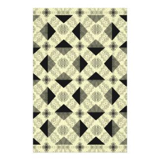 Modern Optical Illusion Pattern Stationery
