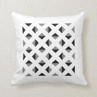 Modern Optical Illusion Pattern Throw Pillow
