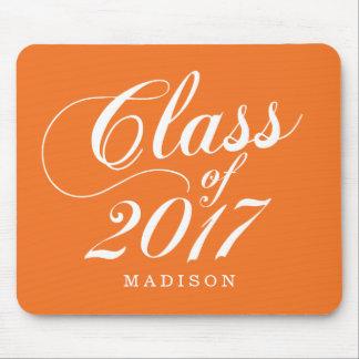 Modern Orange | Graduation Mouse Pad
