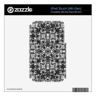 Modern Oriental Pattern iPod Touch 4G Decal