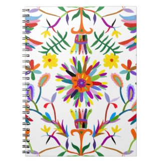 Modern Otomi Design II Notebook
