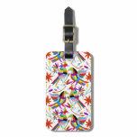 Modern Otomi Design III Bag Tag