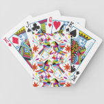 Modern Otomi Design III Bicycle Playing Cards