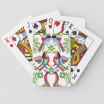 Modern Otomi Design III Playing Cards