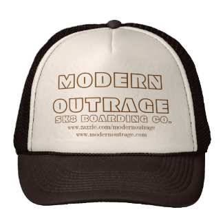 MODERN OUTRAGE DOO DOO BROWN HATS